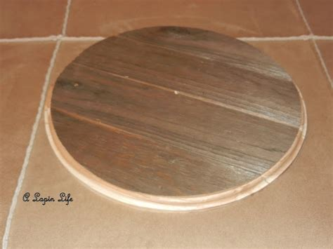 a lapin life barn wood ceiling medallion you can make