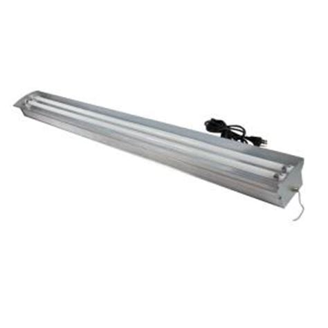 3 Foot Fluorescent Light Fixture Homeselects 4 Ft 2 L 54 Watt Aluminum Fluorescent Grow Light Fixture With Ls 6292 The