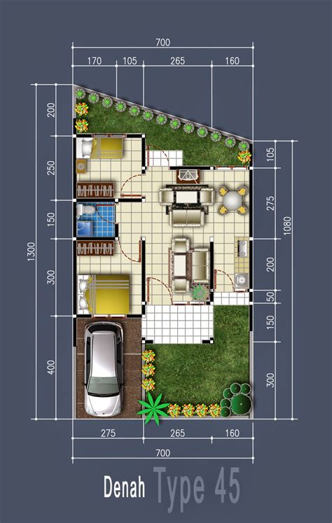 desain rumah minimalis type  pilihan nyaman  keluarga  desain rumah minimalis