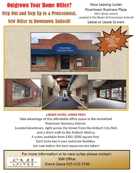 Antioch Post Office Hours by Affordable Office Space Available In Antioch S Historic