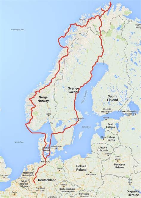 Motorradtouren Wetter by Motorrad Tour Nordkap 2016