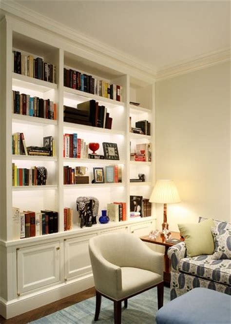 small home library design ideas built ins