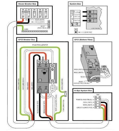 50 gfci breaker wiring diagram on 50 wirning