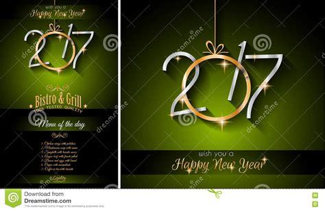 new year restaurant 2017 happy new year restaurant menu template background