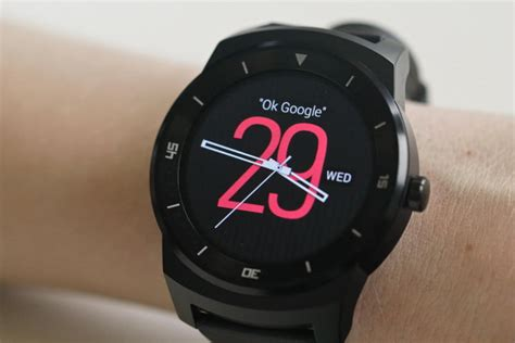 Lg Smartwatch R Lg G R Review Android Wear Smartwatch Digital Trends