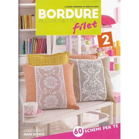 bordure all uncinetto per tende rivista di fata bordure all uncinetto filet 2