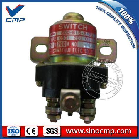 Really Bantu Starter Komatsu Pc 200 pc200 8 pc200lc 8 komatsu excavator motor starter relay 600 815 2170 cmp technology co limited