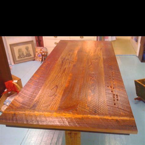 rough cut cypress farm table  creations pinterest