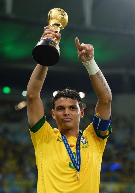 thiago silva thiago silva  brazil  spain final