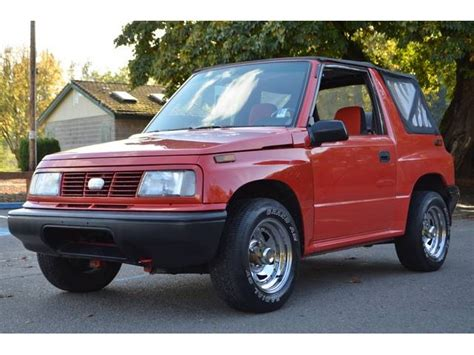 1993 geo tracker information and photos momentcar
