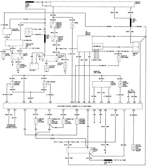 87 mustang distributor wiring diagram get free image