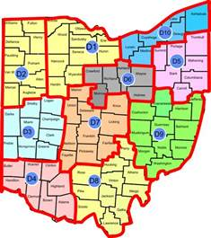 Ohio District Map by Download Map In Pdf Format