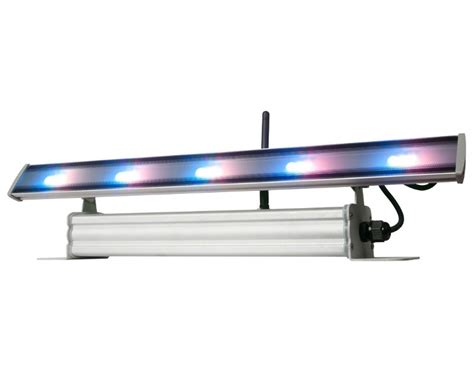 traveller led light bar american dj wifly wash bar battery powered color mixing