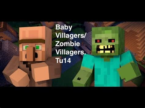 how to make a zombie baby youtube minecraft how to get a baby zombie and baby villagers