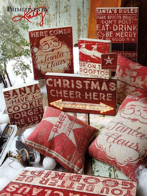 christmas craft show signs pillows and signs this collection makes an eye catching display for a craft fair