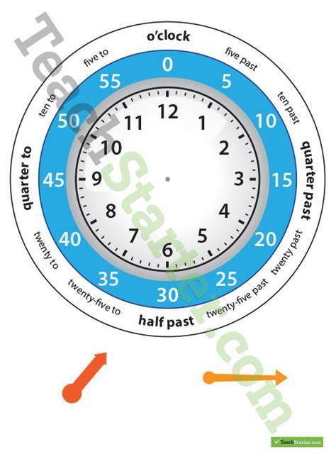 clock template for teaching time 17 best images about maths time on student