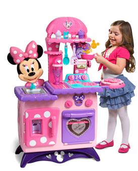 Walmart   Minnie Mouse Flipping Fun Play Kitchen $55.00   FTM