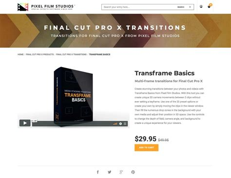 final cut pro basics introducing transframe basics by pixel film studios for