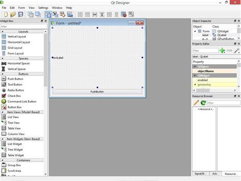 tutorial python y qt python qt 1 comenzando a crear interfaz grafica con