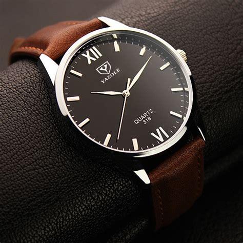 Jam Tangan Dw Brown 1 yazole jam tangan analog 318 black brown jakartanotebook