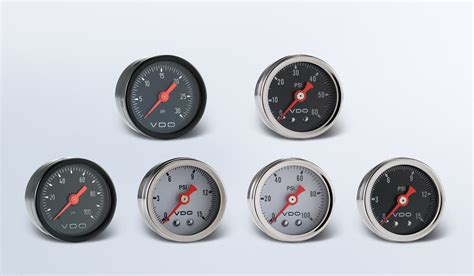 Vdo Presurre Meter by series instruments displays and clusters vdo