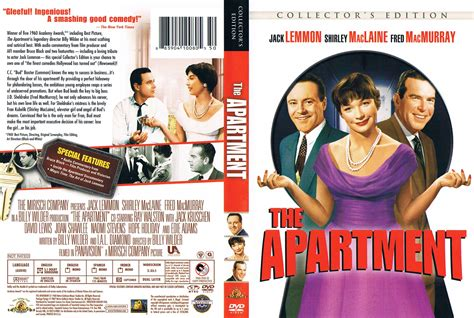 the apartment the apartment 1960 ce ws r1 dvd cd label dvd
