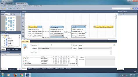 create er diagram from mysql database create database from er diagram mysql workbench periodic