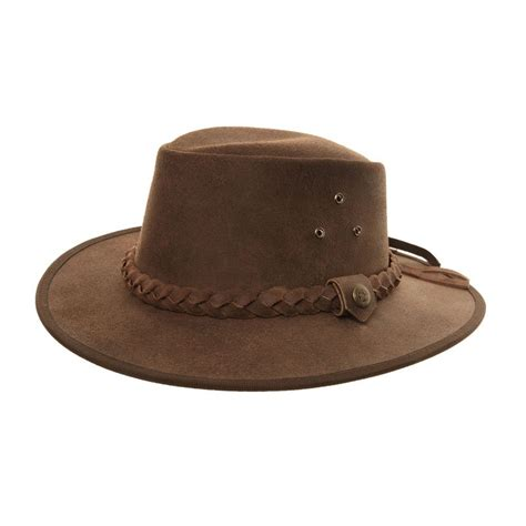 style hats ak51l chocolate brown australian style hat ssp hats