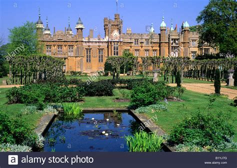 house to buy in hertfordshire knebworth house hertfordshire english stately home lake garden stock photo royalty