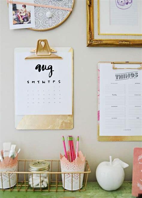 Office Supplies Decor by Best 25 Desk Wall Organization Ideas On Gold