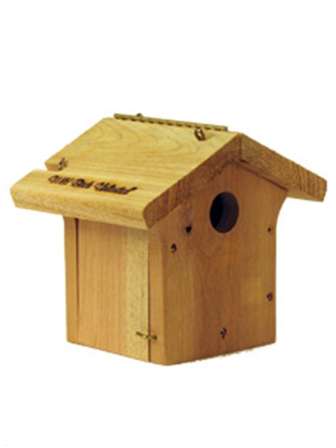 wbu carolina wren chickadee nesting box