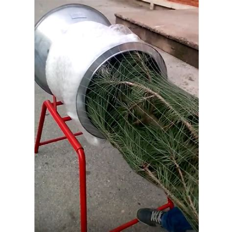 true christmas tree netting machines galvanised 34cm