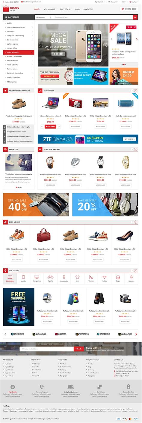 template joomla free ecommerce 10 best responsive joomla ecommerce templates 2016