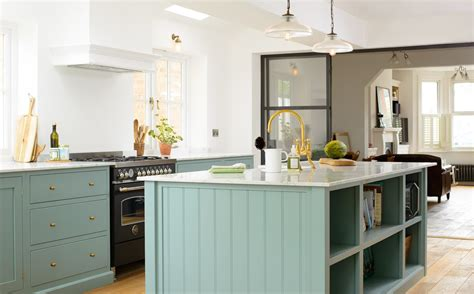 Attractive Light Blue Kitchen Cabinets #3: DeVOL-St-Albans-Kitchen--DSC_7509-Edit.jpg?itok=TmkYewGM