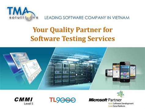 tma software testing competency