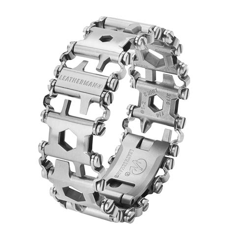Leatherman Tread Stainless Steel With Box leatherman tread multi tool bracelet stainless steel ltbs