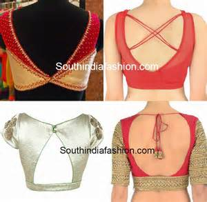 Saree blouse behind neck designs about cool fashion design pic