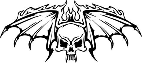 imagenes de calaveras en llamas para dibujar dibujo de calavera con alas en llamas para colorear