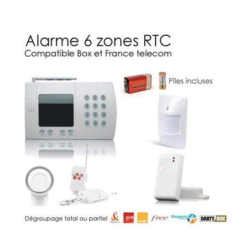 Kit Alarme Maison Sans Fil 158 by Kit Alarme Sans Fil De Maison 6 Zones Easy Box Alarme