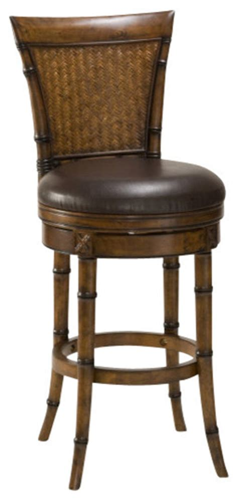 tropical style bar stools hillsdale santiago swivel 24 inch counter height stool