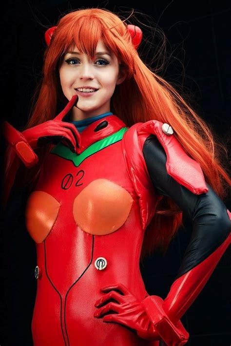 asuka langley plug suit cosplay soryu neon genesis evangelion cosplay gallery project