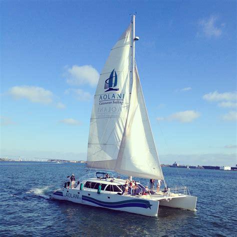 aolani catamaran san diego meet bruno schwarz of aolani catamaran sailing sdvoyager