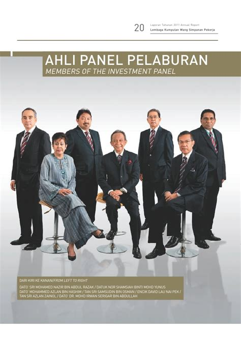 Datuk Nor Shamsiah Laporan Tahunan Kwsp 2012