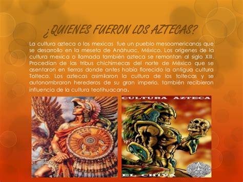 imagenes de aztecas o mexicas cultura azteca