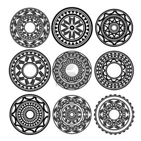 circle design tattoos polynesian circle designs stuff to buy