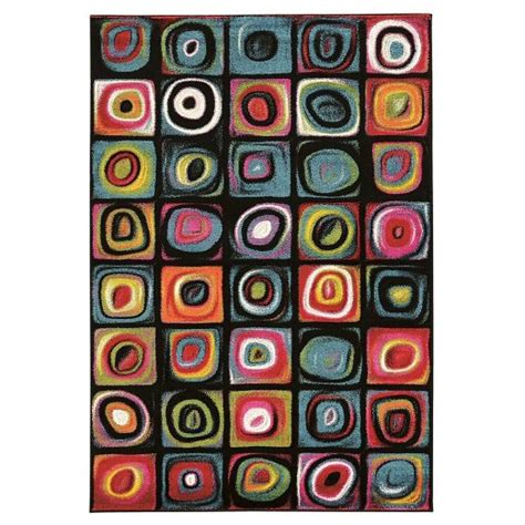 Rug Masters by Masters Mr03 Hop Scotch Rug Target