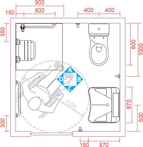 doccia dimensioni i suggerimenti ponte giulio per un bagno disabili a norma