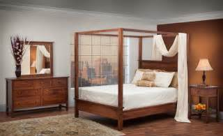 Contemporary Canopy Bedroom Furniture Sets Modern Shaker Style Canopy Bedroom Set