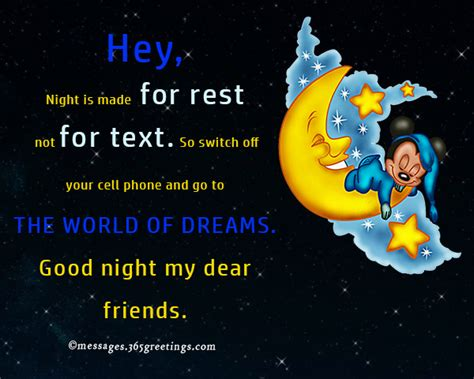 funny good night messages greetingscom