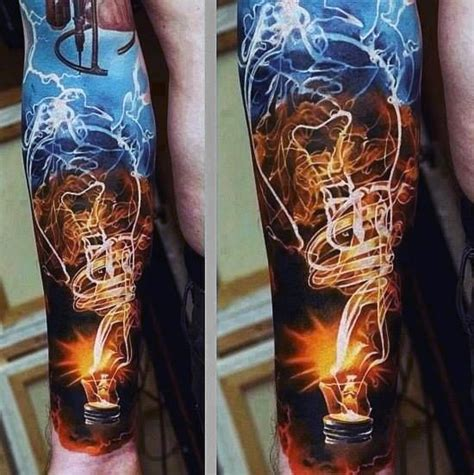 electricity tattoo designs top 100 best sleeve tattoos for cool designs and ideas